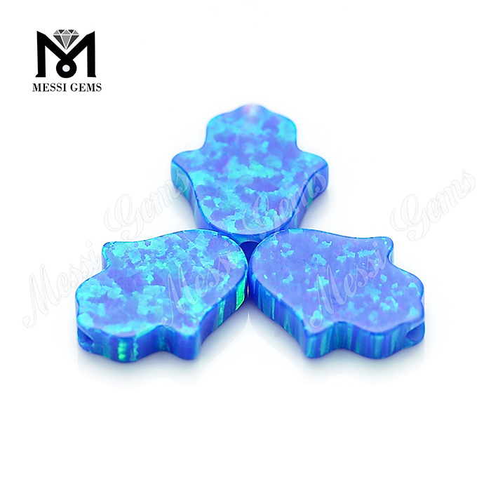 Wholesale Synthetic Opal Hamsa Blue Fire Opal Price