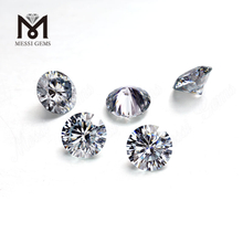 1 carat 6.5 mm round machine cut DEF VVS moissanite price