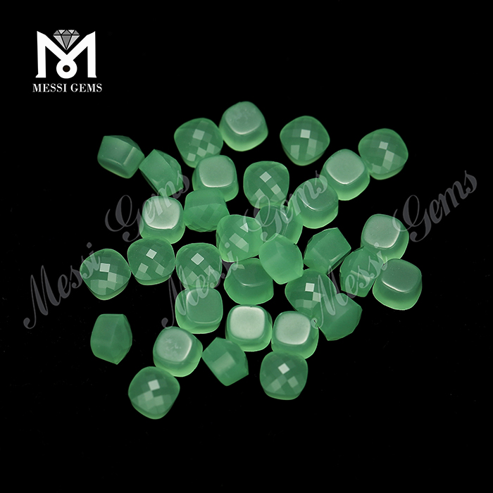 Hot Sale Fancy Jewelry Glass Stones Loose Colored Cake Stones
