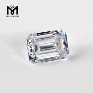 loose moissanite diamond 1 carat emerald cut moissanite VVS