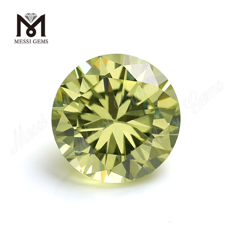 Wholesale price synthetic cz gemstone round 145 facets loose cubic zirconia