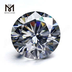 High quality DEF wholesale moissanite diamond Gray moissanite stone with VVS clarity