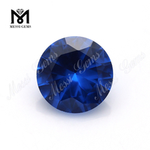 China Round Brilliant Cut #119 Spinel Light Blue Synthetic Sapphire Stone