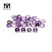 Wholesale amethyst stone price 3.0mm round amethyst gemstone natural