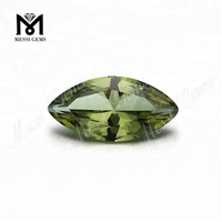 Synthetic Color Change #NZ-4 Green Nanosital Gemstone