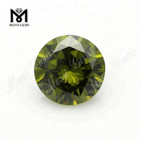 1MM 1.5MM 2MM Olive Cubic Zirconia Loose Diamond Cut CZ Stones