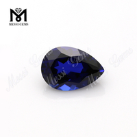 synthetic spinel price per carat pear shape 7x10mm blue spinel rough