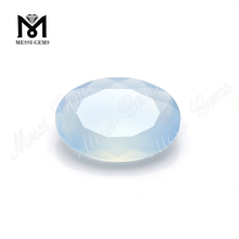 natural cutting stones loose blue chalcedony gems