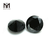 wholesale Oval turtle faced base 10x14mm black natural spinel bead