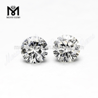 Round brilliant gh color vvs moissanites 6.5mm