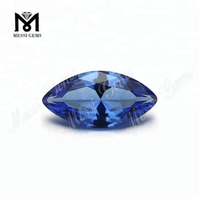 Loose Marquise Shape #A472 Blue Nanosital Gemstone