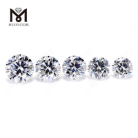 Factory Price 1-3mm EF White moissanite diamond Loose Moissanite Stone
