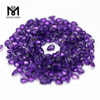 natural gemstones 3x4mm amethyst pear cut stones
