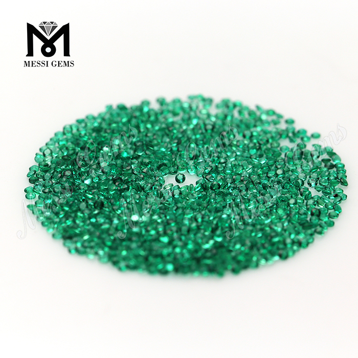 Natural Emerald Stone Created Small Size 1.25MM Emerald Gemstone