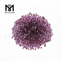 Small Size Natural Purple Garnet Stone 1.75mm Natural Garnet Stone