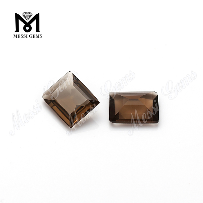 High quality loose gemstone natural smoky quartz