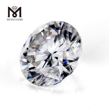 4 carat 10mm Round DEF synthetic loose white moissanite diamond solitaire