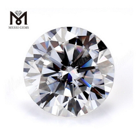 white colour moissanite diamond loose moissanite price Def round brillanite cut