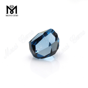 Fancy Shape Blue 106# Spinel Synthetic Uncut Spinel Stones
