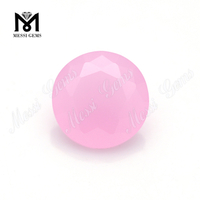 fashion rose quartz China wholesale glass stone