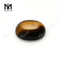 oval cabochon stones beads natural tiger eye stones