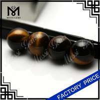 Wholesale price Round ball tiger eye beads stone