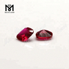 wholesale synthetic corundum 5# red color ruby stone price for red corundum jewelry