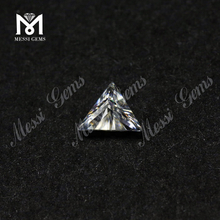 Factory Stock Moissanites Diamond 3x3 triangle shape moissanites for ring
