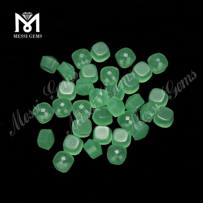 Wholesale fancy cut mushrooms shape crystal glass stones