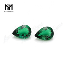 Loose Lab Created Emerald Pear Cut Synthetic Emerald Stone Price