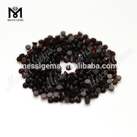 round cabochon 2.5 mm loose red agate stone