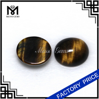 Wholesale Semi Gemstone Stone Oval 10x12 Tiger Eye Stone Price