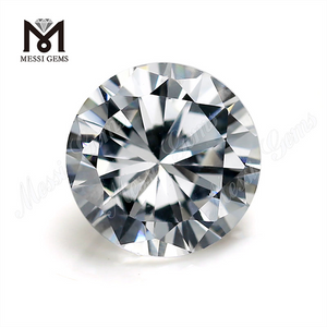 8mm white CZ round cut Synthetic Cubic zirconia