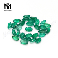 Wholesale Green Agate Oval 3*5mm Natural Stone Price