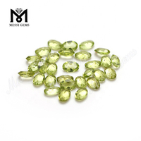 China Hot Sale Oval Cut Loose Peridot Peridot Gemstone