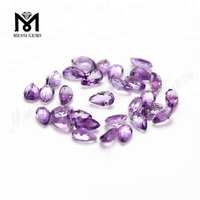 Factory price 3x5mm pear cut loose natural amethyst stone price