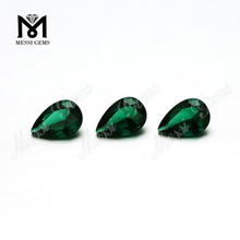 Lab Created Emerald Gemstone 6x9 Pear Shape Green Emerald for Ring