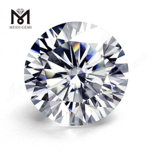 China DEF round brilliant cut moissanite super white 4ct moissanite loose price