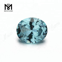 wholesale heat resistant oval aquamarine nanosital