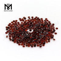 Round Brilliant Cut 2MM Natural Red Garnet Gemstone