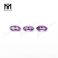 Loose Gemstone Marquise Cut 2.5x5mm Natural Amethyst Gemstone