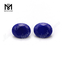 8*10mm oval cut natural lapis lazuli gems from manufacturer