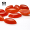marquise cut natural gemstones red jade cabochon for jewels