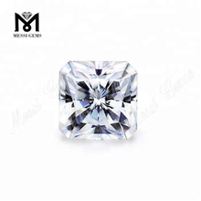 DEF Super White Moissanite Stone Price 1.5 Carat Octagon Cut Synthetic