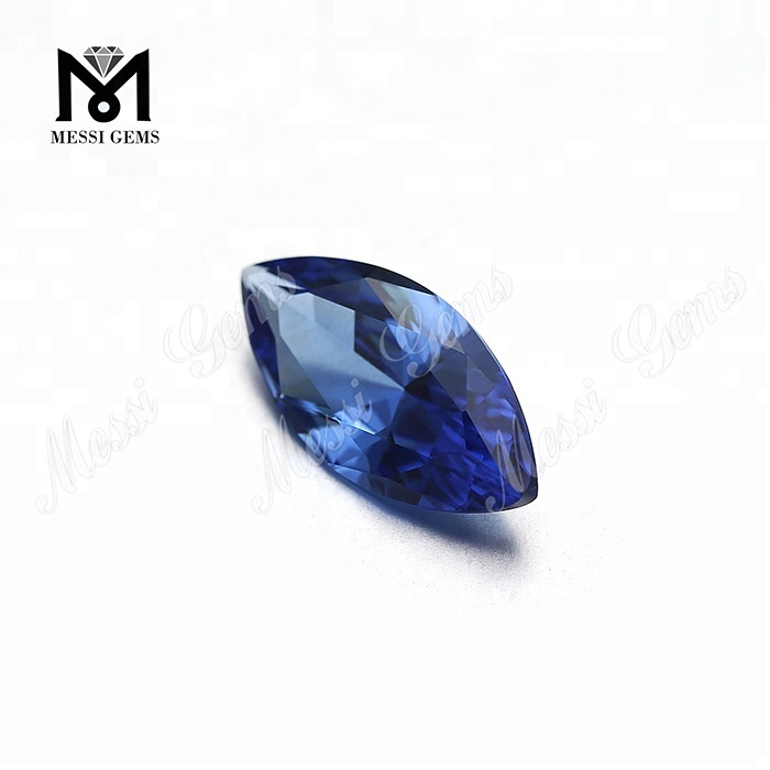 wholesale synthetic loose blue nanosital stones