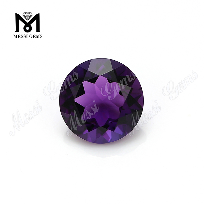 10mm round wholesale amethyst crystal quartz stones from China