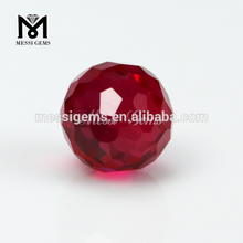 8.0 mm ball shape Ruby 5 # Synthetic Corundum Stone