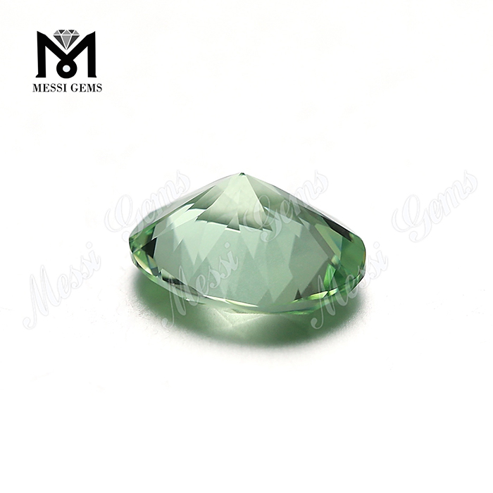#A2248 green oval shape color change nanosital synthetic sital gemstone