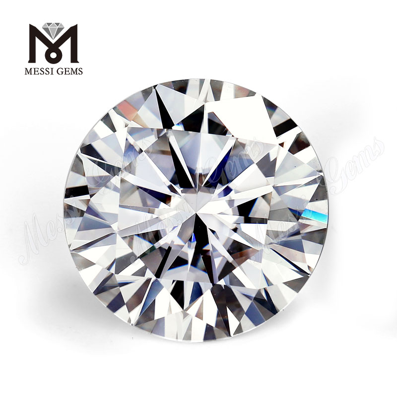 Synthetic Moissanite loose gemstones Special Round DEF VVS Cutting