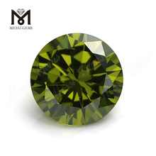 Factory Wholesale Loose Synthetic Gemstone Round Brilliant 2mm CZ Stone Price